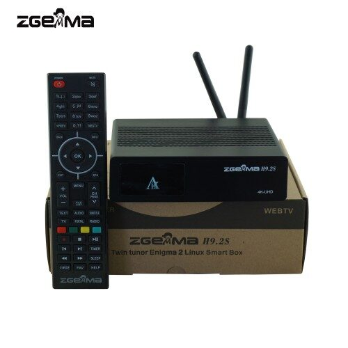 ZGEMMA H9S SE (with sky freeview. OPTIONAL .satellite dish required) wifi model